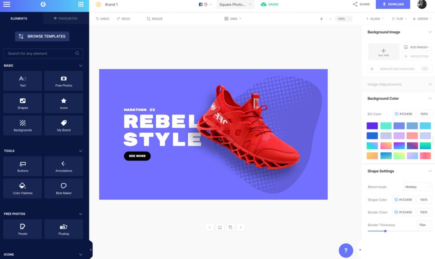 Glorify : un outil de création de visuels adaptés pour le e-commerce - BDM/tools
