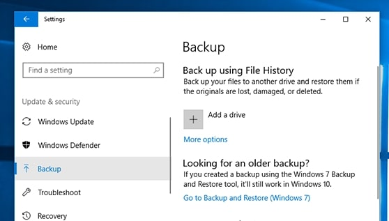 Sauvegarde Windows : l'outil officiel Windows pour sauvegarder et restaurer vos données - BDM/tools