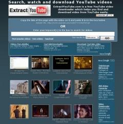 extract youtube