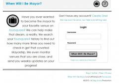 when will i be mayor