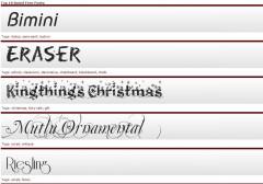 ace free fonts