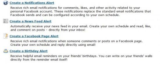 Alertes TheFriendMail