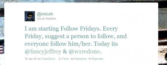 premier Follow friday