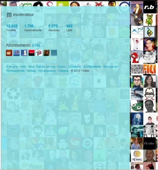 Background Twitter