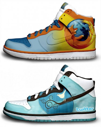 Limitée Baskets Bdm Édition Nike Firefox Des Twitter Et Google Ttq6qxAd