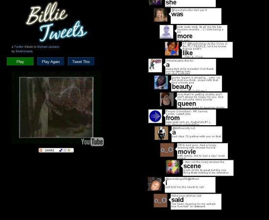 billie tweets