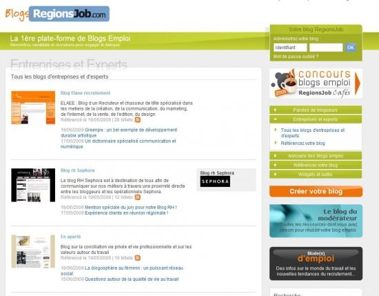 blogs entreprises