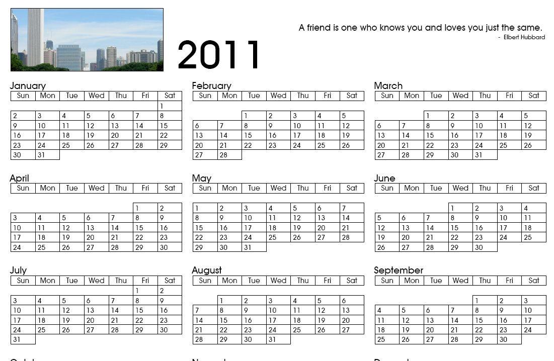 cr er gratuitement un calendrier 2011 blog du mod rateur. Black Bedroom Furniture Sets. Home Design Ideas