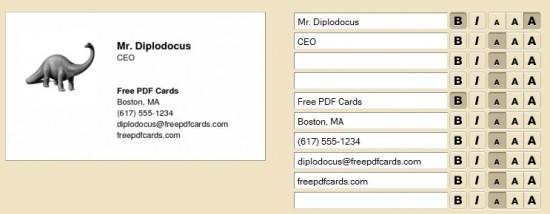 Creer Une Carte De Visite Gratuitement En 5 Minutes Avec Free Pdf Cards Bdm