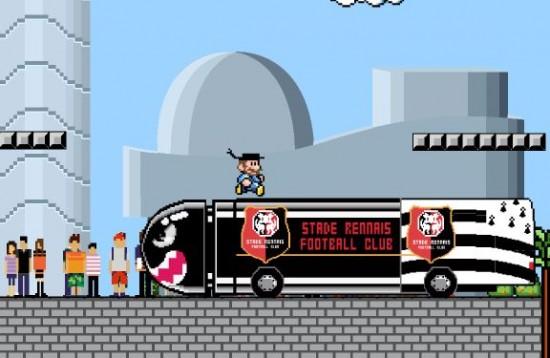 carte de voeux Mario