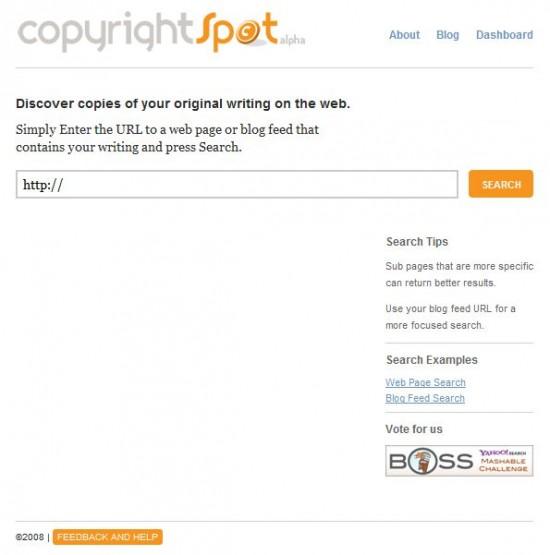 copyrightspot