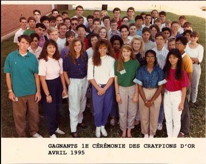 Gagnants des Craypion d'Or
