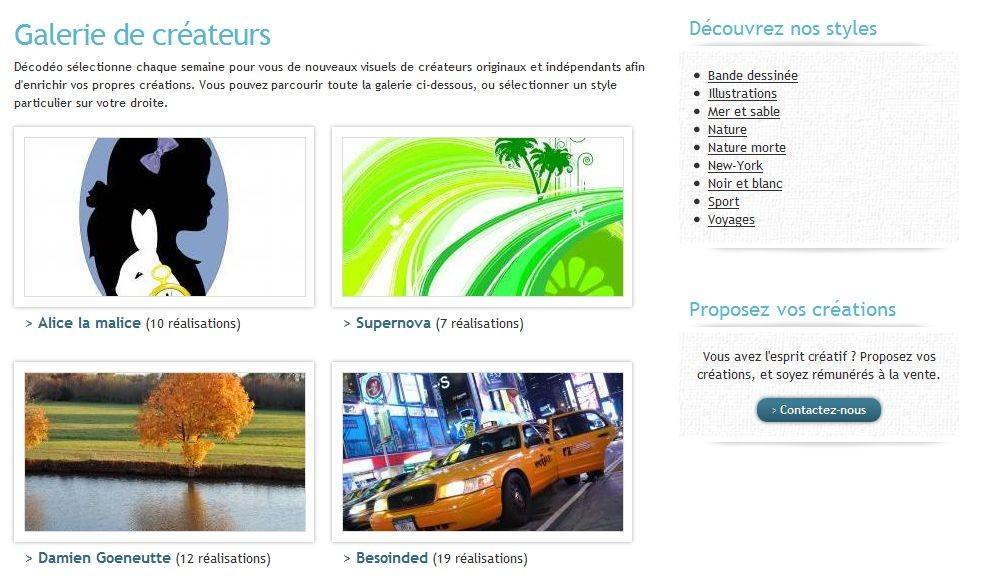 Entretien avec david de decodeo site de personnalisation for Offre d emploi decoration