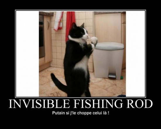 Invisible Fishing