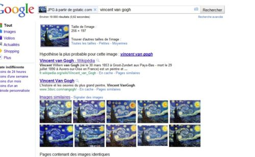 nouveautés recherches Google