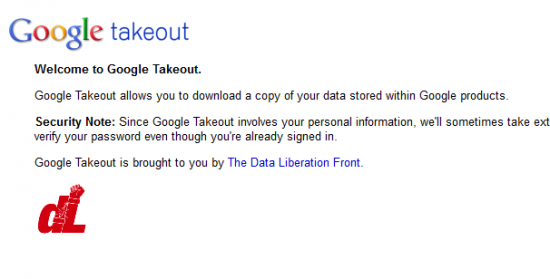 google take out