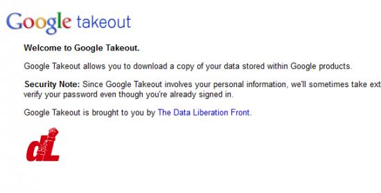google take out