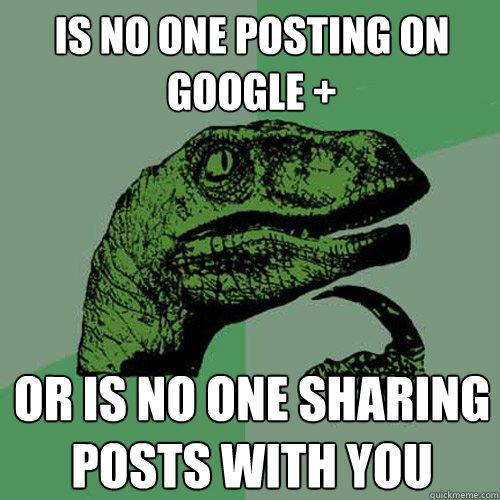 Google Plus Dino