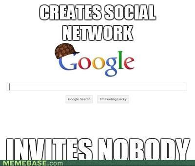Invitations Google Plus