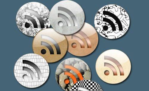 50 sets d'icônes RSS gratuites