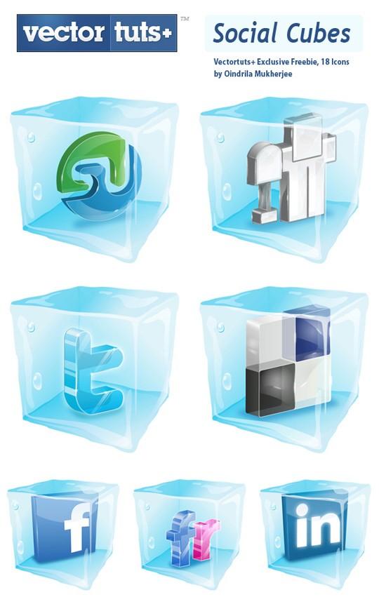 icones sociales