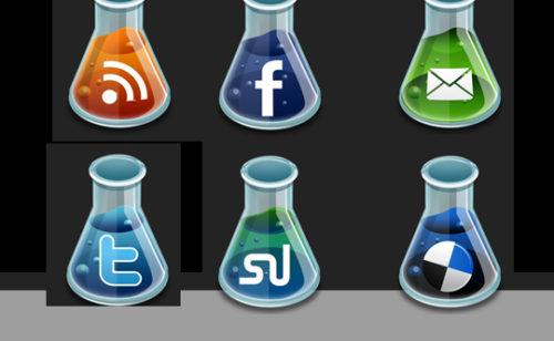 22 packs d'icônes dédiés réseaux sociaux