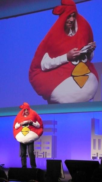 Loïc Le Meur en Angry Birds