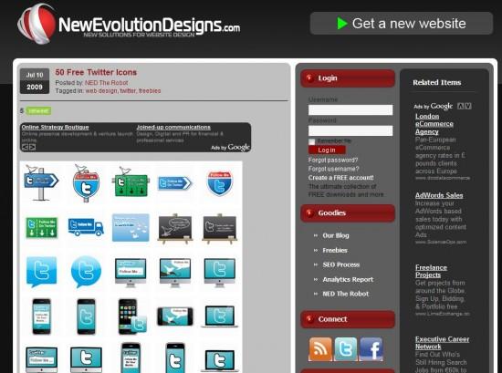 new evolution designs