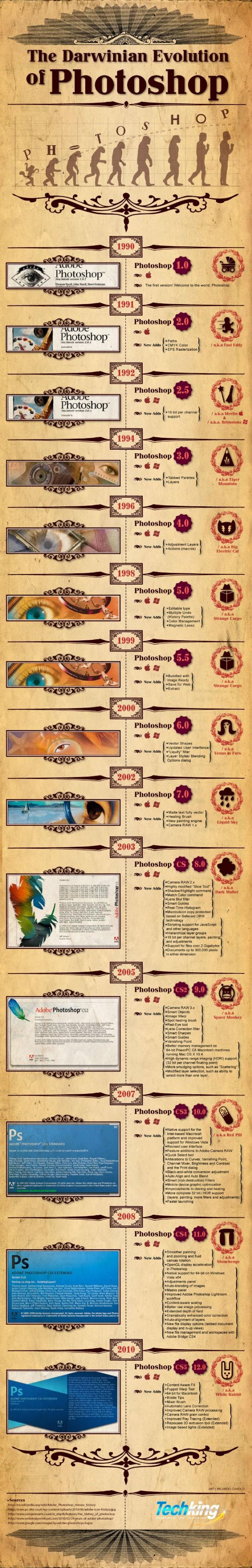 Infographie Photoshop