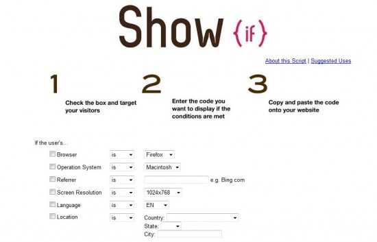 show if