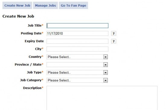 publier gratuitement des offres d u0026 39 emploi sur sa page
