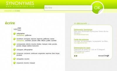 Dictionnaire Des Synonymes Evitez Les Repetitions Bdm