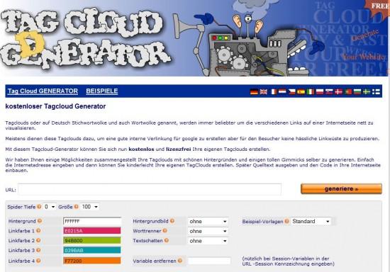 tag cloud generator