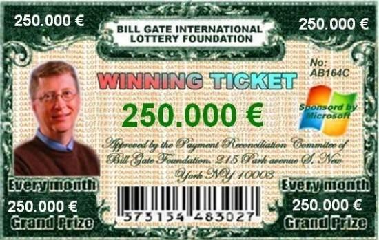 ticket gagnant