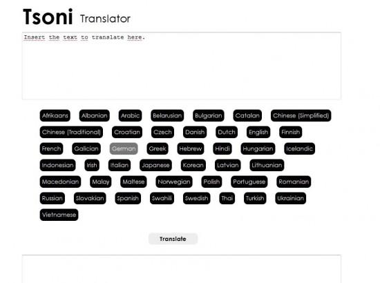 tsoni