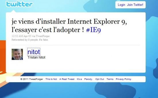 TweetForger