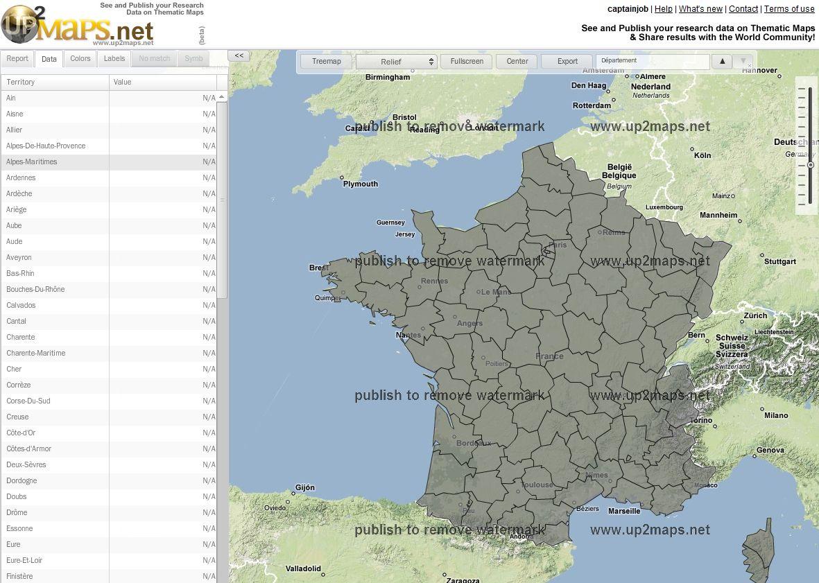 Cr er une carte du monde personnalis e avec up2maps blog du mod rateur - Creer une carte geographique personnalisee ...