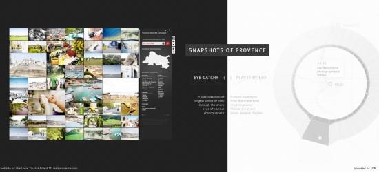 Webby snapshot of provence