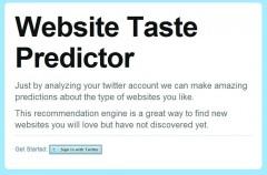 Website Taste Predictor