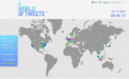 world of tweets