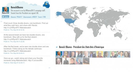 Infographie chefs d'Etat Twitter