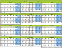 Cr er son calendrier 2012 gratuitement pour l 39 imprimer blog du mod rateur - Creer son calendrier ...