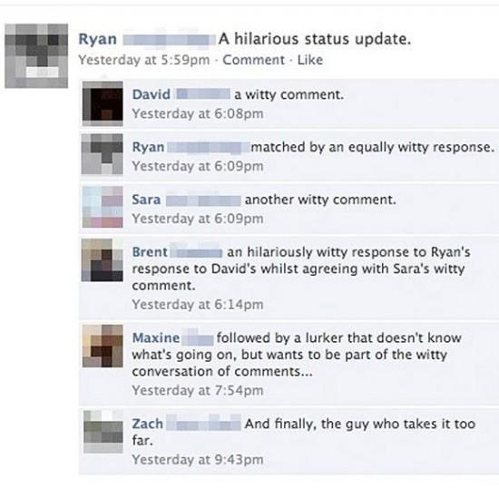 conversation Facebook