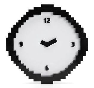 horloge-pixel