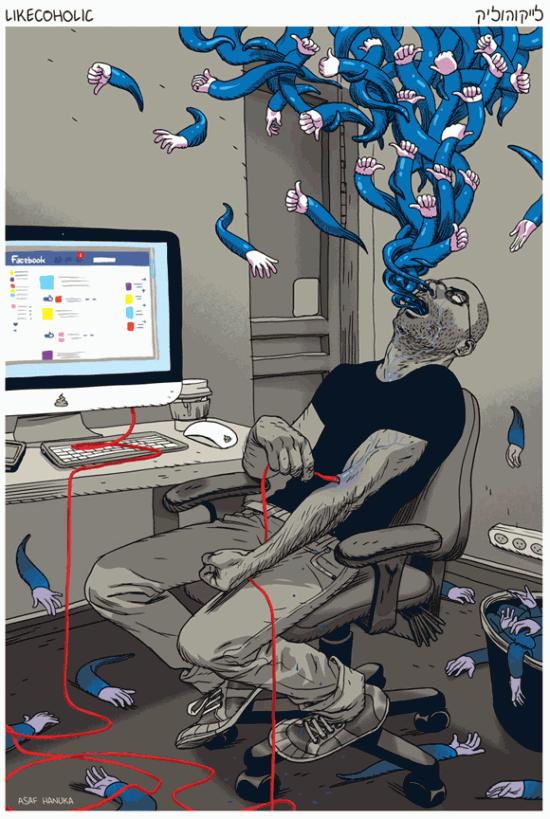 dépendance à facebook