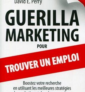 Interview   Guerilla marketing trouver emploi (+ 5 livres gagner)