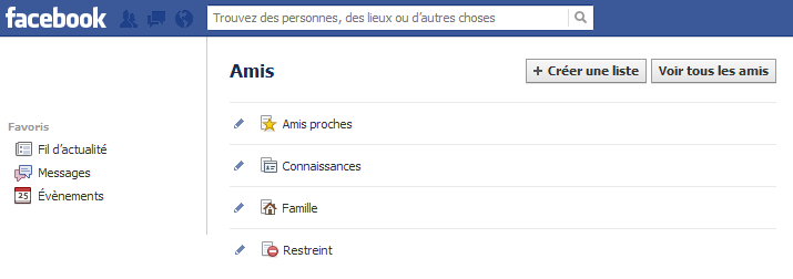cacher liste amis facebook android 2015