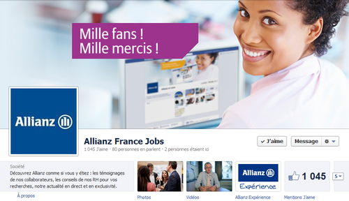 Allianz facebook