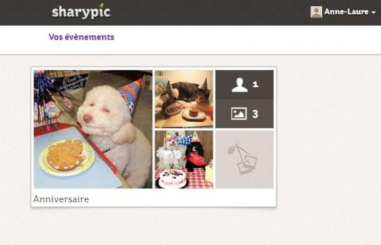 Trois sites pour partager photos