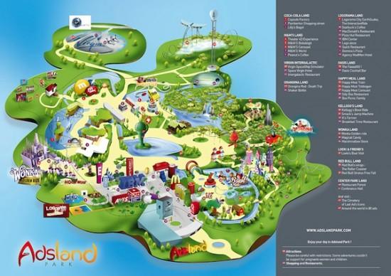 adsland park un projet de parc d 39 attraction d di la publicit blog du mod rateur. Black Bedroom Furniture Sets. Home Design Ideas